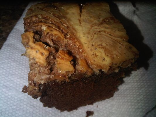 Crazy Cakey Cheesecake Brownies