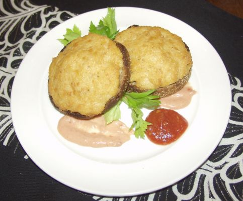 My Crab and Shrimp Cakes...so yummy