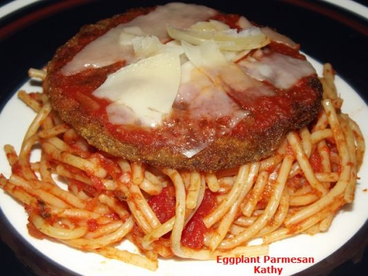 Eggplant Parmesan On