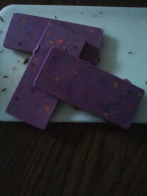 Purple Dream Candy Bars