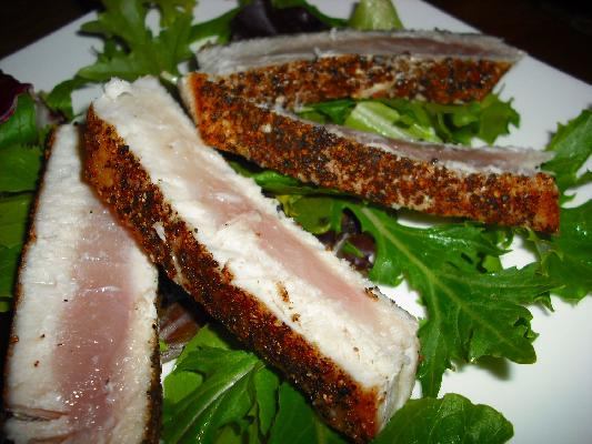 Seared Black Pepper Tuna