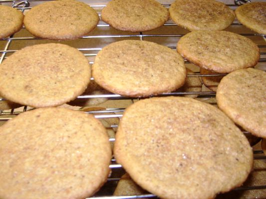 Fresh Ginger Snaps