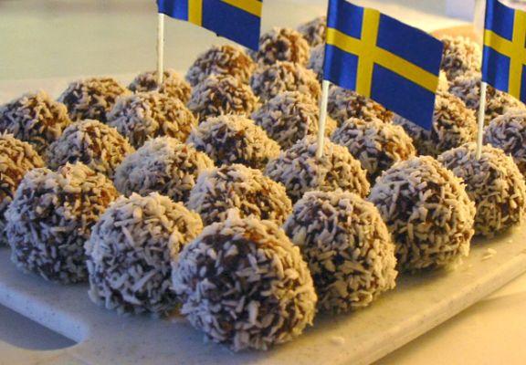Swedish Chokladbollar On Bakespacecom
