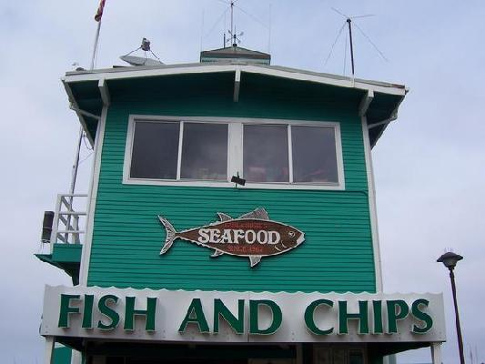 Best fish and chips on the island!