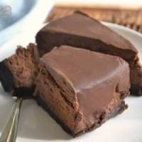 Protein chocolate cheesecake
