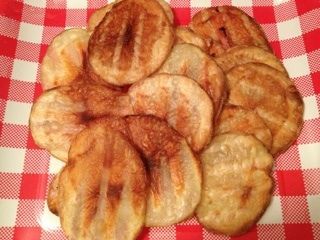 Panini Press Potatoes