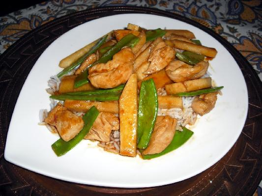 Orange Jicama Chicken