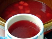 Thanksgiving Hot Spiced Cranberry Cider