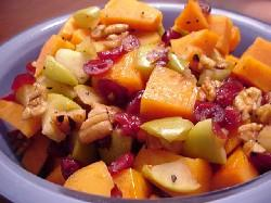 Sweet Potato Cranberry Apple Saute