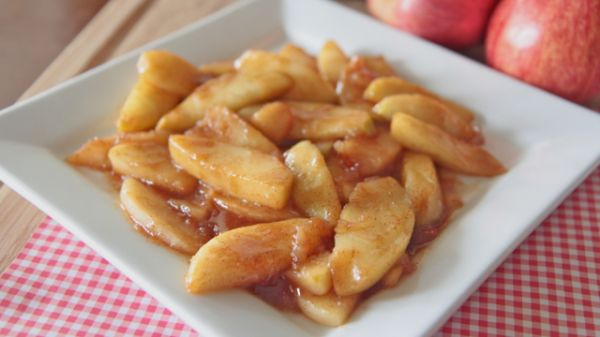 Mommer's Southern Fried Apples