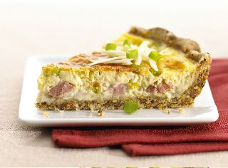 Gruyère-and-Ham Quiche