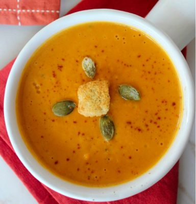 Fall sqaush soup