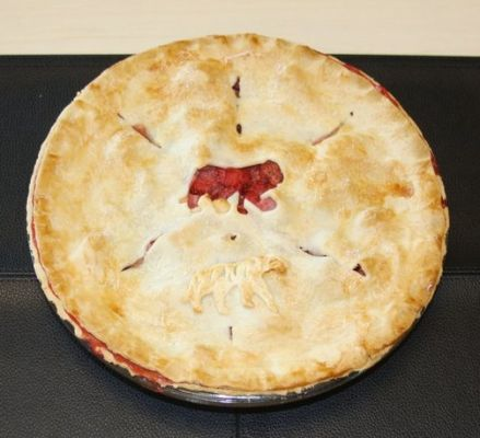 Grant's Strawberrry Apple Pie