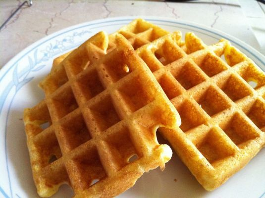 Buttermilk Cornmeal Waffles