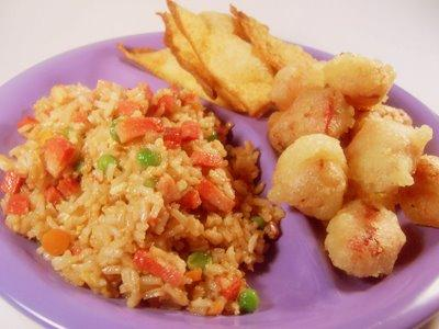 Easy Shrimp & Pork Fried Rice