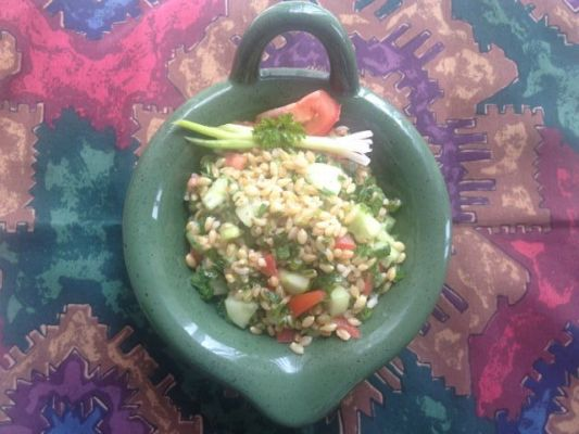 Whole Wheat  Berries Salad