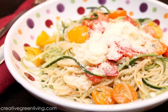 Light & Healthy Summer Pasta Primavera