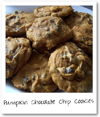 Easy Peasy Pumpkin Chocolate Chip Cookies!