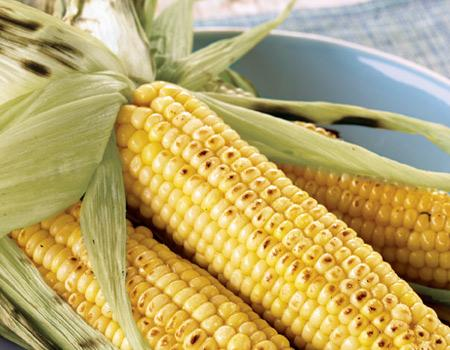 Grill-Roasted Corn on the Cob