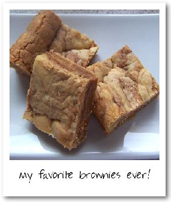 Amazing Peanut Butter Brownies