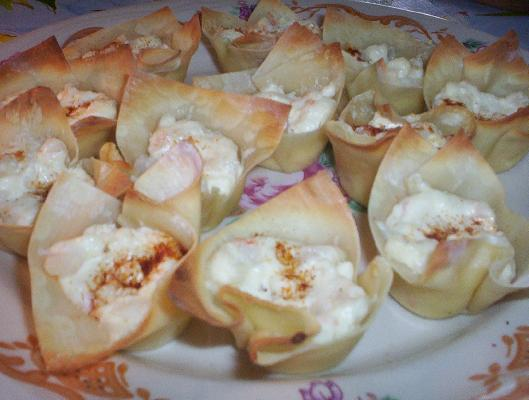 Baked Crab Rangoon
