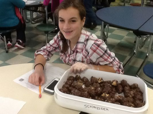 Mikaela S.'s Peanut Butter Balls Modified From Memere Elizabeth