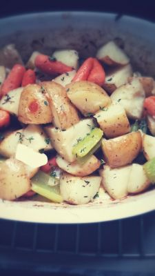 Roasted Stew Vegetables