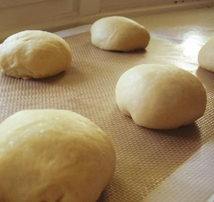 Hamburger Bun Dough