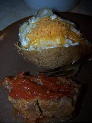 Amber's Savory Meatloaf