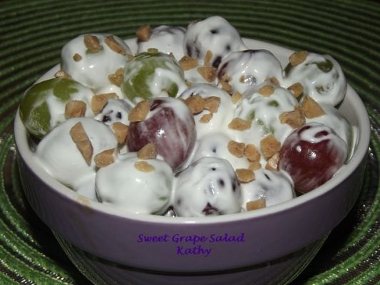 Sweet Grape Salad