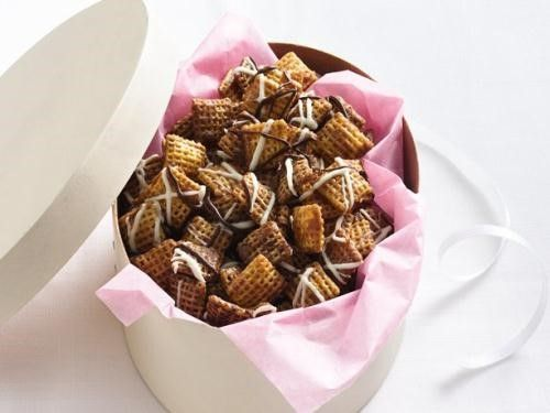 Chocolate Chex Caramel Crunch Mix
