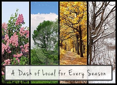 A dash of local for every season
