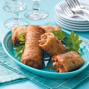 Pizza Egg Rolls