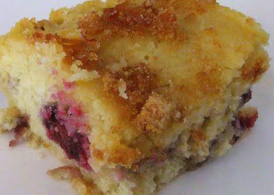 Brulee Blackberry Coffee Cake