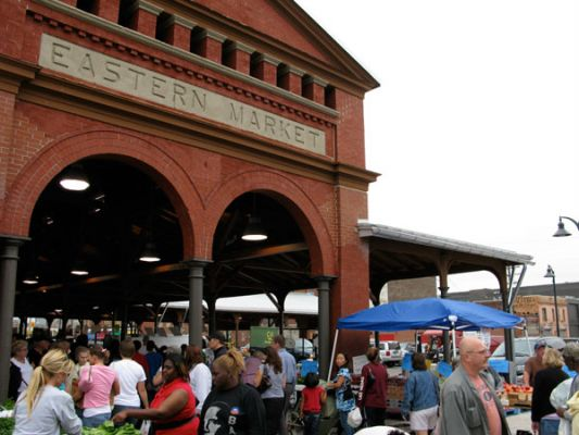 Eastern Market in Detroit is a great place for produce, spices, anything!