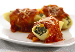 Spinach and Cheese Stuffed