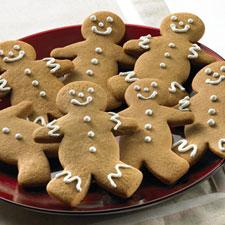 Crunchy Gingerbread Men Cookies