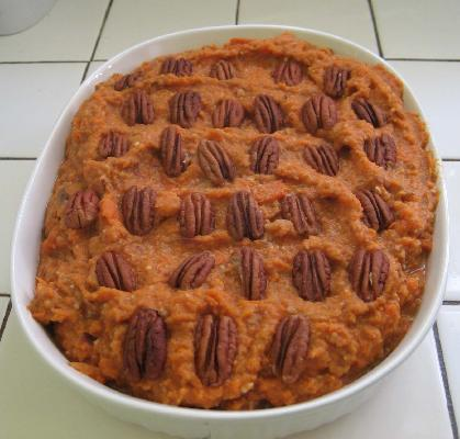Vegan Sugar-Free Mashed Sweet Potatoes