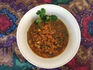 Moroccan Lentil and Carrot Soup