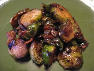 Balsamic Bacon Brussels Sprouts
