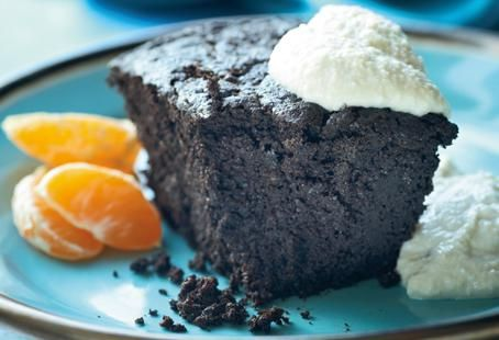 Quinoa Dark Chocolate Cake