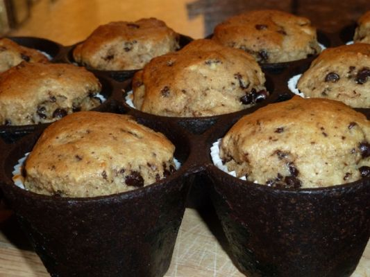Be Free Bakers Gluten Free Vegan Banana Chocolate Chip Muffins