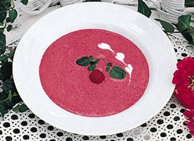 Cold Raspberry Soup