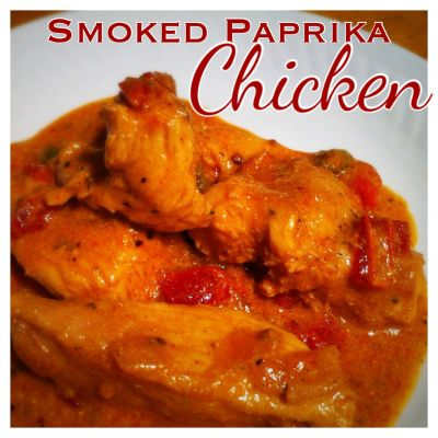 Braised Smoked-Paprika Chicken