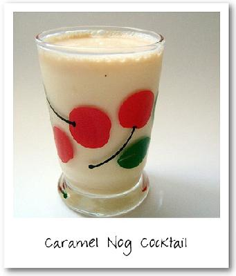 Caramel Nog Cocktail