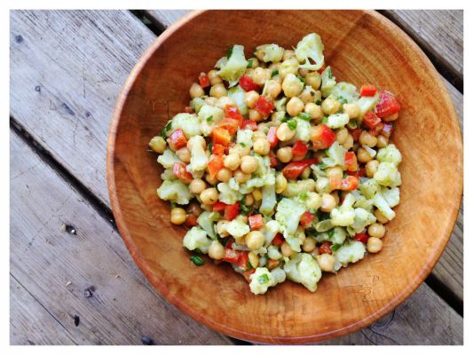Chickpea Salad – Richness of Protein and Minerals