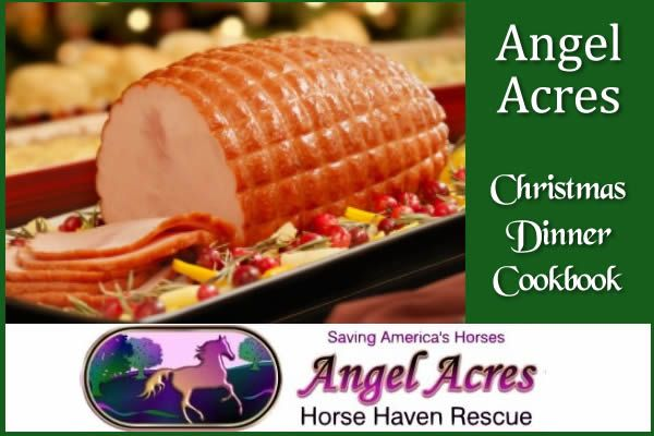 Angel Acres Christmas Dinner Cookbook!