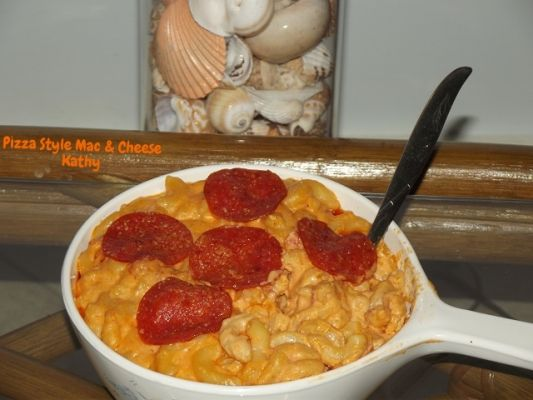 Pizza Style Mac & Cheese