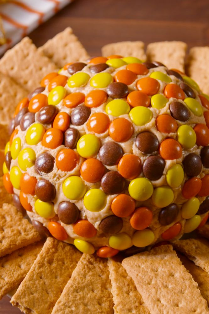 Reeses Peanut Butter Cookie Dough Cheese Ball