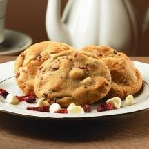 Rich & Chewy Cranberry White Chocolate Cookies